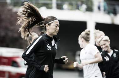 Rumi Utsugi joins the growing list of injured players returning to the NWSL after the international break | Source: the-bold.net