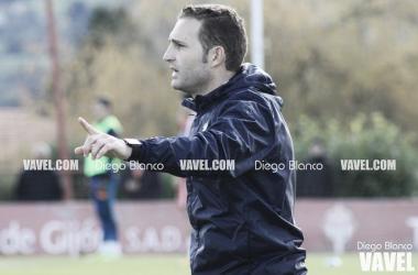 Rubén Baraja durante un entrenamiento | Fotografía: Diego Blanco (VAVEL)
