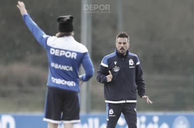 """Rubén de la Barrera: """"Nos tenemos que traer tres puntos de Barreiro sí o sí"""""""