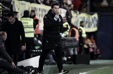 Rubi durante el encuentro ante el Villarreal. Foto: Web RCD Espanyol.