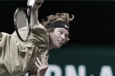 Andrey Rublev venceu Marcos Giron no Rotterdam Open 2021 (ATP / Divulgação)