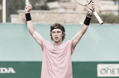 Andrey Rublev venceu Casper Ruud noMasters 1000 de Monte Carlo 2021 (ATP / Divulgação)
