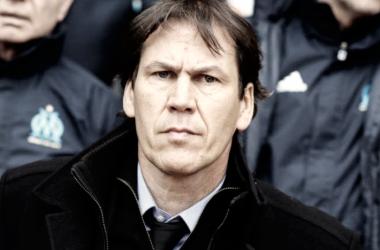 En la imagen, el técnico del Olympique de Marsella, Rudi García. // Fuente: OM.
