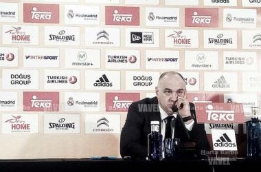 """Pablo Laso: """"El equipo ha seguido luchando y no ha bajado los brazos"""""""
