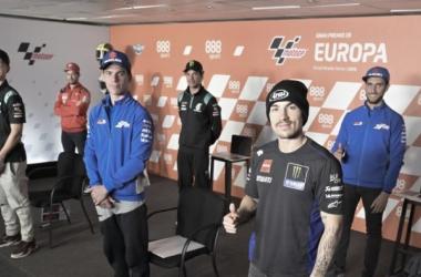 Rueda de prensa Gran Premio de Europa 2020