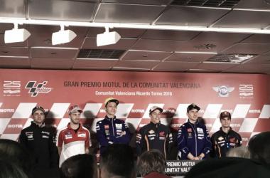 Rueda de prensa del GP de Valencia de MotoGP 2016
