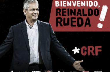 Reinaldo Rueda dirigirá por primera vez un club extranjero. | Foto: Flamengo