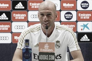 """Zidane: """"Salimos con los 3 puntos y es una victoria merecida"""""""