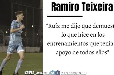Ramiro Teixeira: ''Es algo que venía luchando desde muy chico''