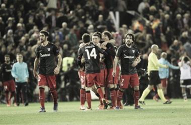 Raúl García no podrá ayudar a sus compañeros en la ida ante el Sevilla | Foto: Athletic Club