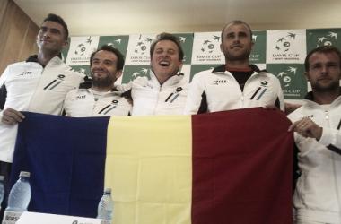 Equipo rumano de Copa Davis. Foto: daviscup.com