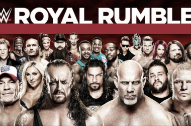 This year's Royal Rumble is stacked. Photo-Sky Sports