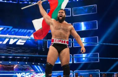The Bulgarian Brute RUSEV  photo credit: wwe.com