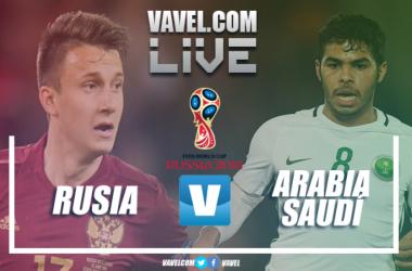 Resumen Rusia 5-0 Arabia Saudí en Mundial de Rusia 2018