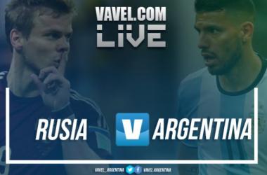 Rusia vs Argentina en vivo | Foto: VAVEL
