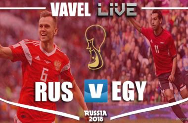 Resumen Rusia vs EgiptoenMundial Rusia 2018(3-1)