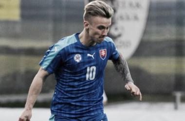 Slovakian international Albert Rusnak is on the verge of completing a transfer to Real Salt Lake.   Photo: SITA / Martin Mednansky