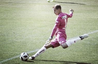 Diego Rodríguez en el Jef United de Japón. Foto: Olé.