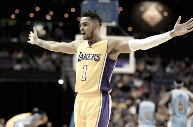D'Angelo Russell will be key for the Lakers tonight. | USA-TODAY Sports