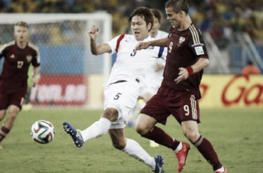 Goleiro falha e Rússia empata com a Coreia do Sul na estreia pela Copa do Mundo