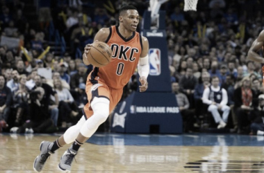 Russell Westbrook has had some choice words for those officiating in the NBA. | USA TODAY Sports