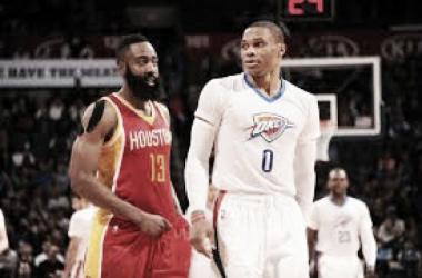 Westbrook ganó el duelo de estrellas y condujo a los Thunder a la victoria. Foto: NBA Feeds