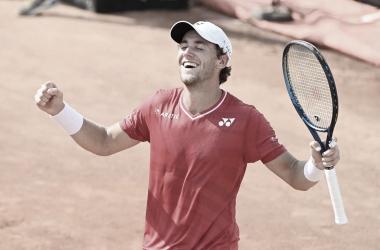 Casper Ruud venceu Pablo Carreño Busta noMasters 1000 de Monaco 2021 (ATP / Divulgação)