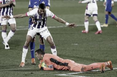 Getafe 0-1 Real Valladolid: el buen trabajo ya da sus frutos