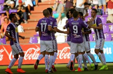 El Real Valladolid, en busca del mejor inicio posible. (Imagen: Real Valladolid).