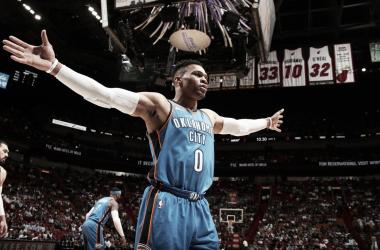 Russell Westbrook. Fonte: NBA/Twitter