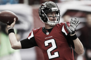 Matt Ryan will lead the Falcons over the 49ers. | Photo: SI