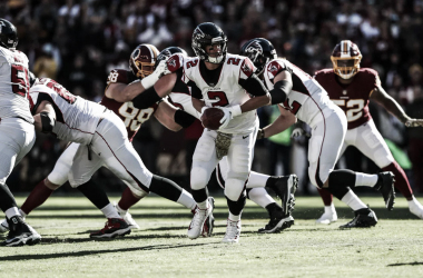 <div><br></div><div>Matt Ryan tuvo un nivel estelar lanzando para 350 yardas y 4 pases de TD. (Imagen: Falcons.com)</div><div><br></div>