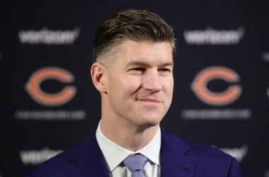 Chicago Bears GM says the right quarterback wasn't available in the draft