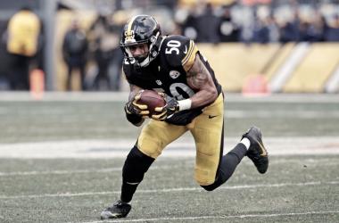 Shazier no juega desde diciembre pasado | Foto: Pittsburgh Steelers