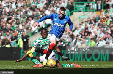 Kent in action against Celtic last season. Photo by Ian MacNicol/GettyImages