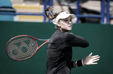 Cazaque soma seis vitórias contra tenistas do top 10 na carreira (Foto: Jimmie48/WTA)