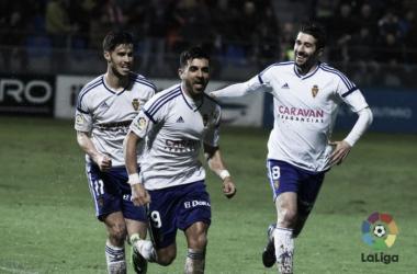 SD Huesca - Real Zaragoza: puntuaciones del Real Zaragoza, jornada 24