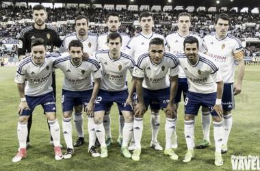 El Real Zaragoza consiguió la salvación matemática en la penúltima jornada liguera. Foto: Andrea Royo, VAVEL.