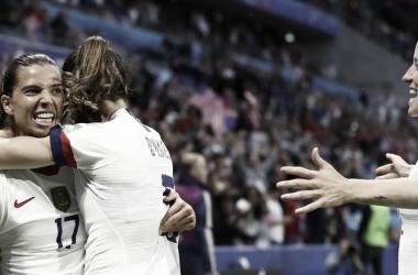 Estados Unidos busca la clasificación a cuartos de final ante Australia en la última jornada del grupo G   Fotografía: FIFA/Getty Images