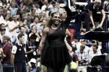 La sonrisa de Serena Williams tras el triunfo | Foto: US Open