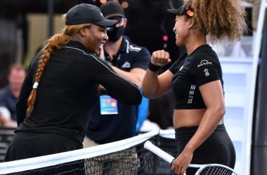Nadal, Serena y Djokovic se gustan en la exhibición de Adelaida