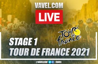 Highlights Stage 1 of 2021 Tour de France: Brest - Landerneau