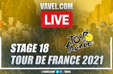 Highlights stage 18 of 2021 Tour de France: Pau - Luz Ardiden