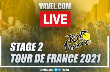Highlights Tour de France Stage 2: Perros Guirec - Mûr De Bretagne Guerlédan