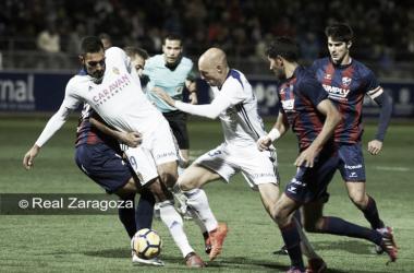 Real Zaragoza vs SD Huesca: ¿Qué pasó en la ida?