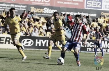 Dominio sportinguista frente al Alcorcón