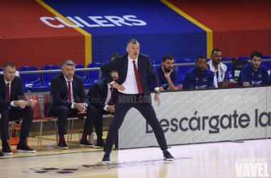 """Saras Jasikevicius: """"Era importante reaccionar después del partido contra Maccabi"""""""