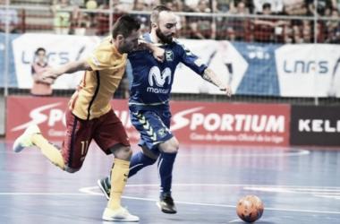Movistar Inter golpea primero en la final de Liga