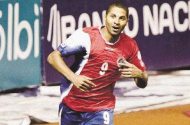 Álvaro Saborío llega con un buen ritmo goleador a la Copa Centroamericana