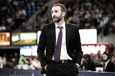 Sito Alonso en su etapa como entrenador de Baskonia | Foto: Baskonia